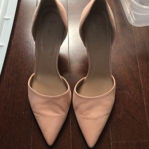 JCrew heels size 8